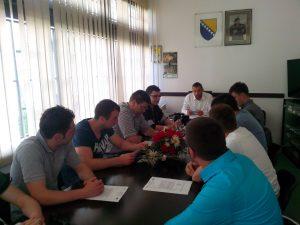 Konstituirajuća sjednica Izvršnog odbora AM OO SDA Travnik