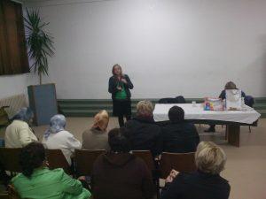 """Asocijacija žena SDA Travnik i OO Asocijacija """"FATMA"""" SDA Travnik organizovale predavanje na temu:""""Respiratorne bolesti"""""""