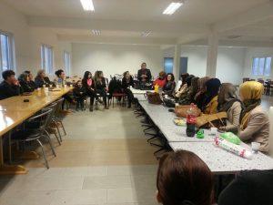 """Asocijacija žena SDA Travnik i OO Asocijacija """"FATMA"""" SDA Travnik realizovala predavanje"""