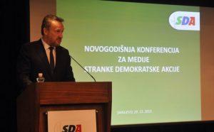Održana novogodišnja press konferencija SDA BiH (FOTO)