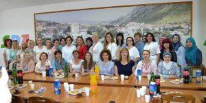 Posjeta Asocijaciji žena SDA HNK