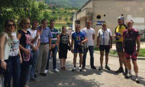 Biciklisti na putu ka Srebrenici odmarali u Travniku