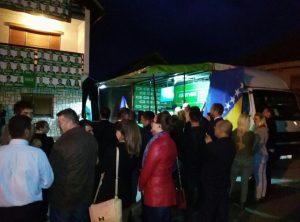 Puna podrška kandidatima SDA iz MO Bjelo Bučje