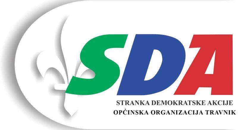 Općinska organizacija SDA Travnik Logo