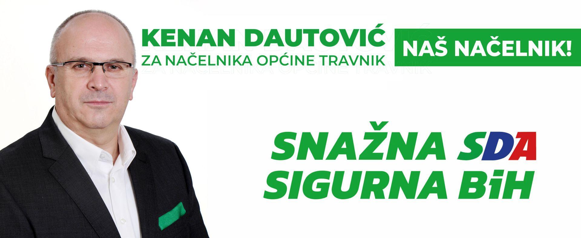 Kenan Dautović - Biografija