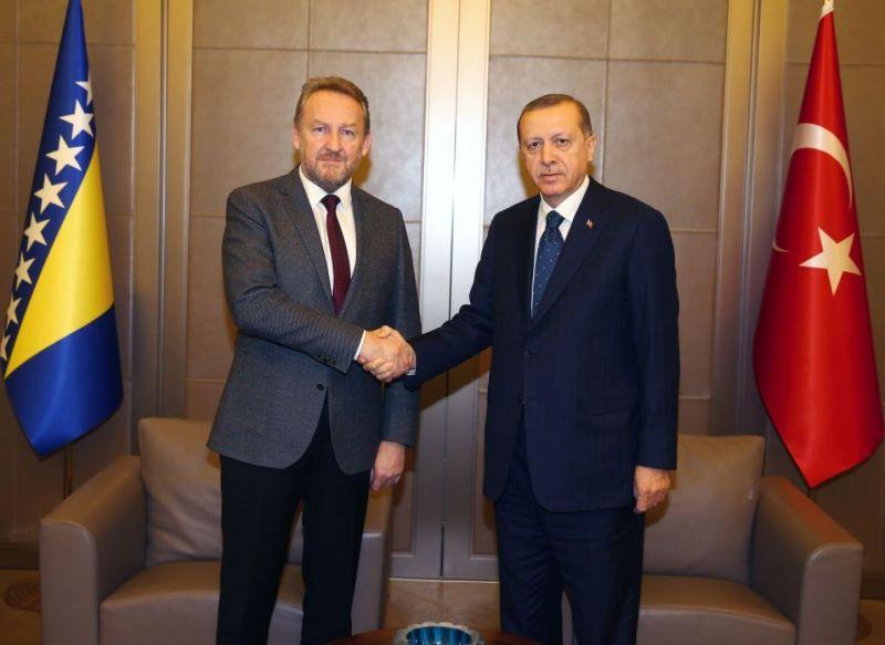 Predsjednik Izetbegović uputio telegram saučešća Erdoganu
