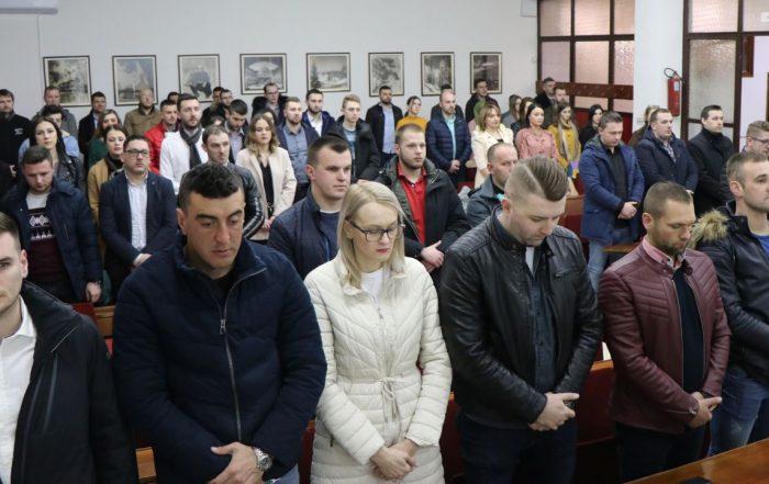 Izabrano novo rukovodstvo KO Asocijacije mladih SDA SBK: Kenan Mujkić novi predsjednik
