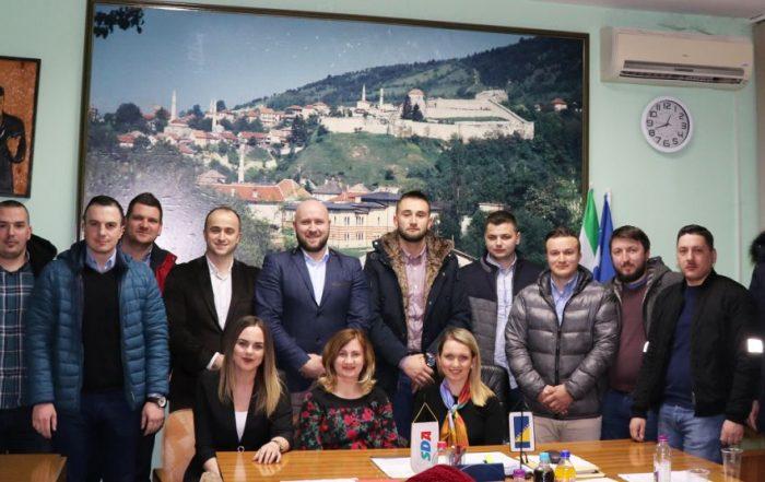 Konstituisan Kantonalni izvršni odbor Asocijacije mladih SDA SBK