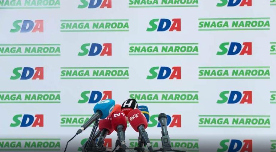 SDA: Odbijamo Dodikov ultimatum, pozivamo i međunarodnu zajednicu da ne nasjeda
