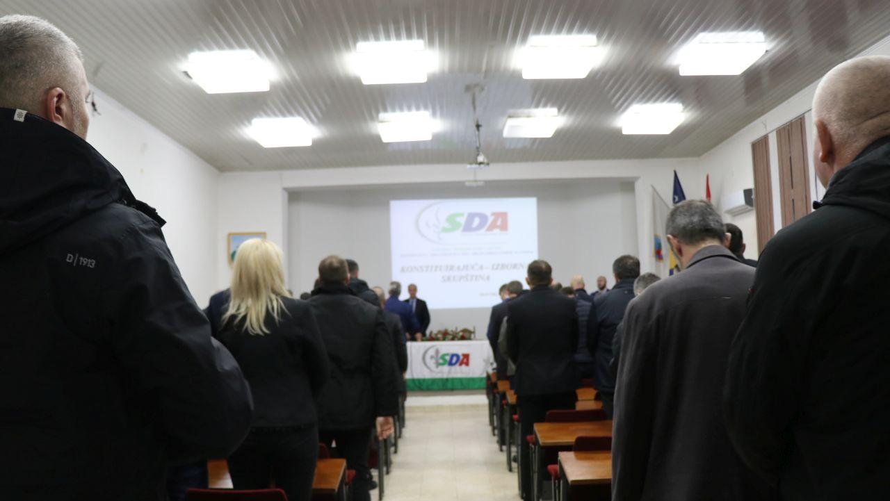 Sinoć održana Izborna skupština KO SDA SBK: Evo ko su izabrani članovi Izvršnog odbora