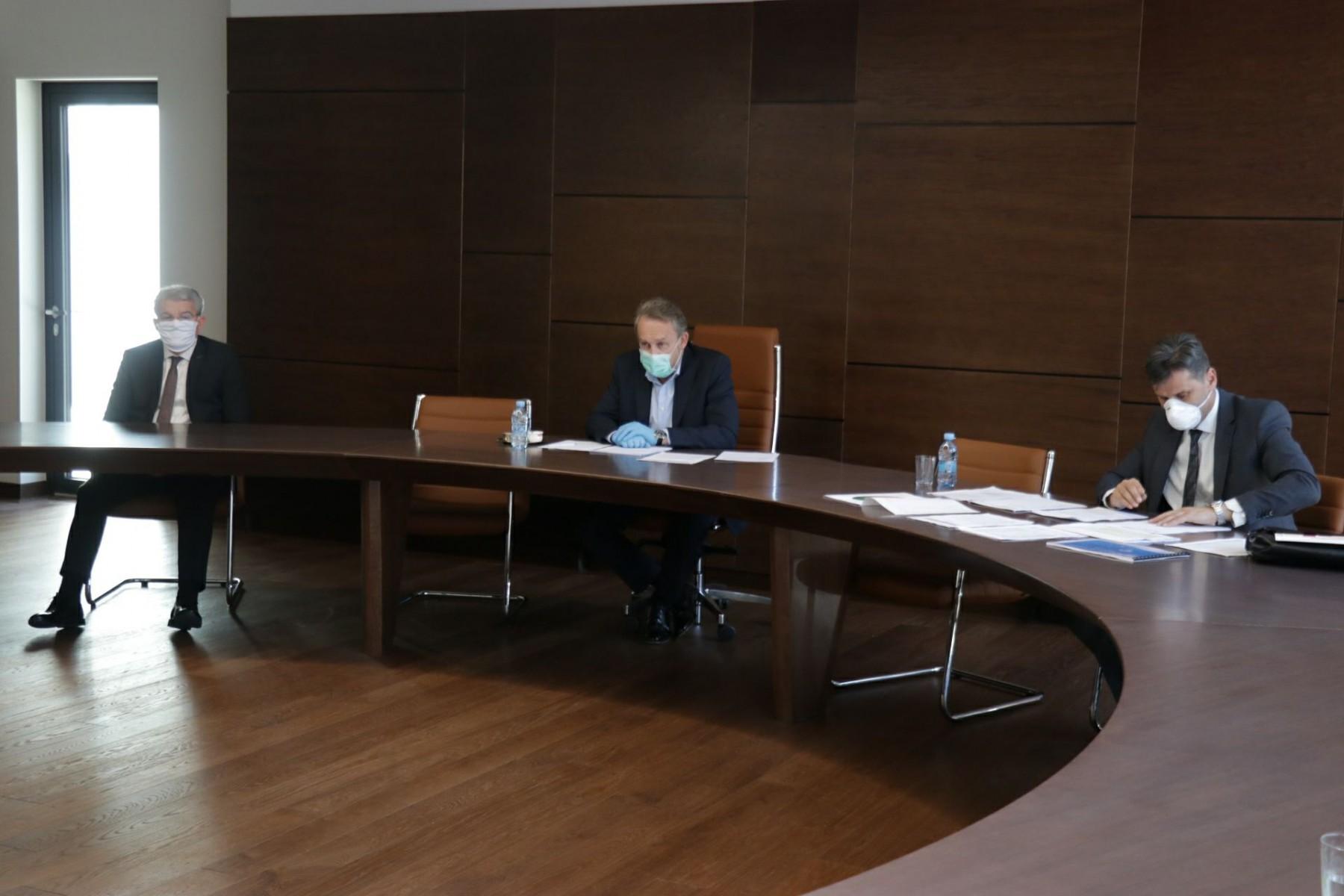 Održan sastanak u svrhu koordinacije borbe protiv pandemije