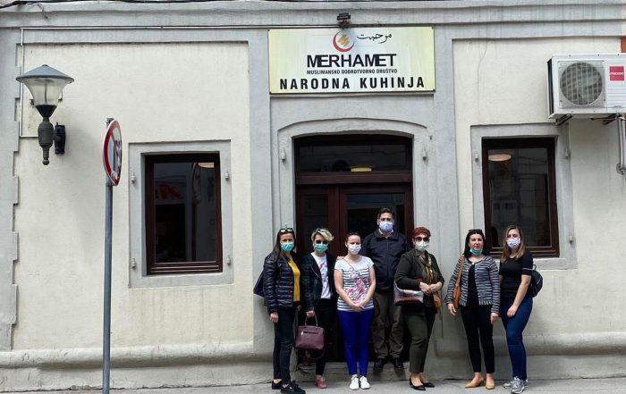 Žene SDA Travnik realizovale akciju za korisnike Javne kuhinje u Travniku