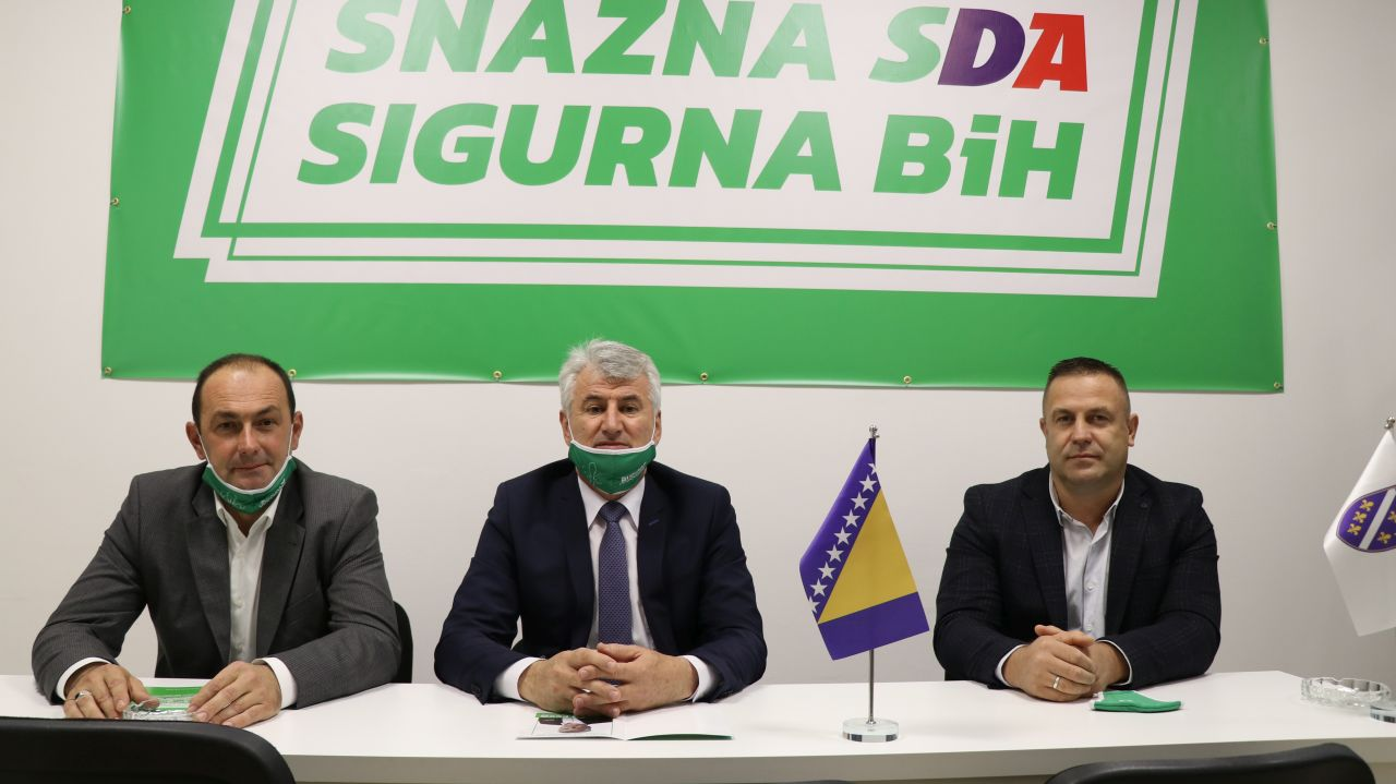 VIDEO: Održana druga press konferencija OO SDA Travnik