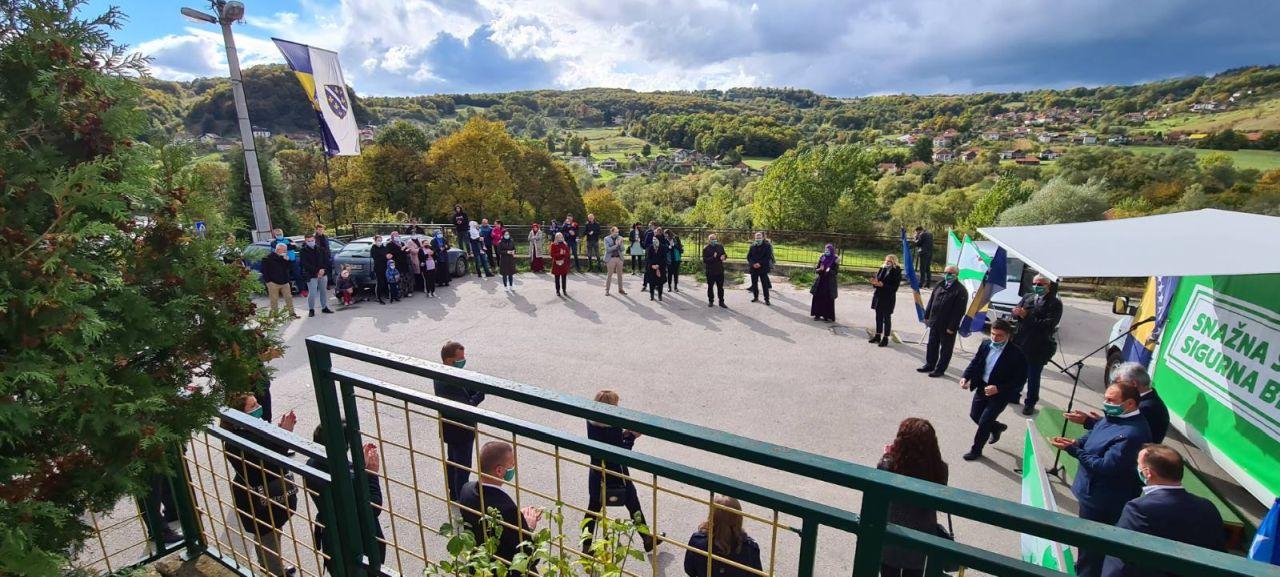 Kandidati OO SDA Travnik danas posjetili Rudnik