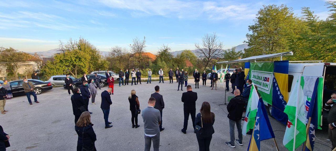 Delegacija OO SDA Travnik danas posjetila Slimena