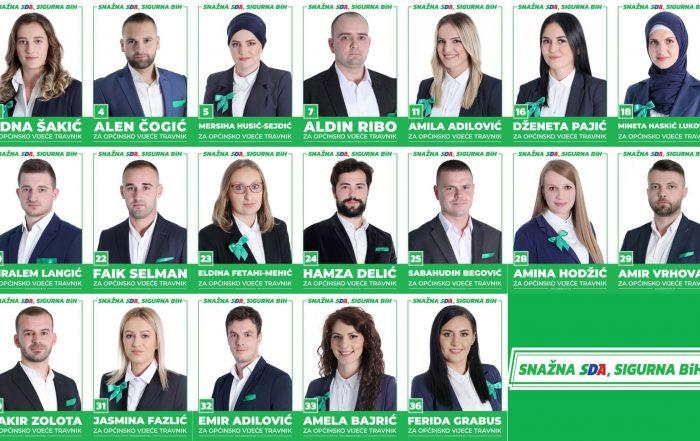 Podržavamo mladost: 19 mladih na našoj listi za OV Travnik