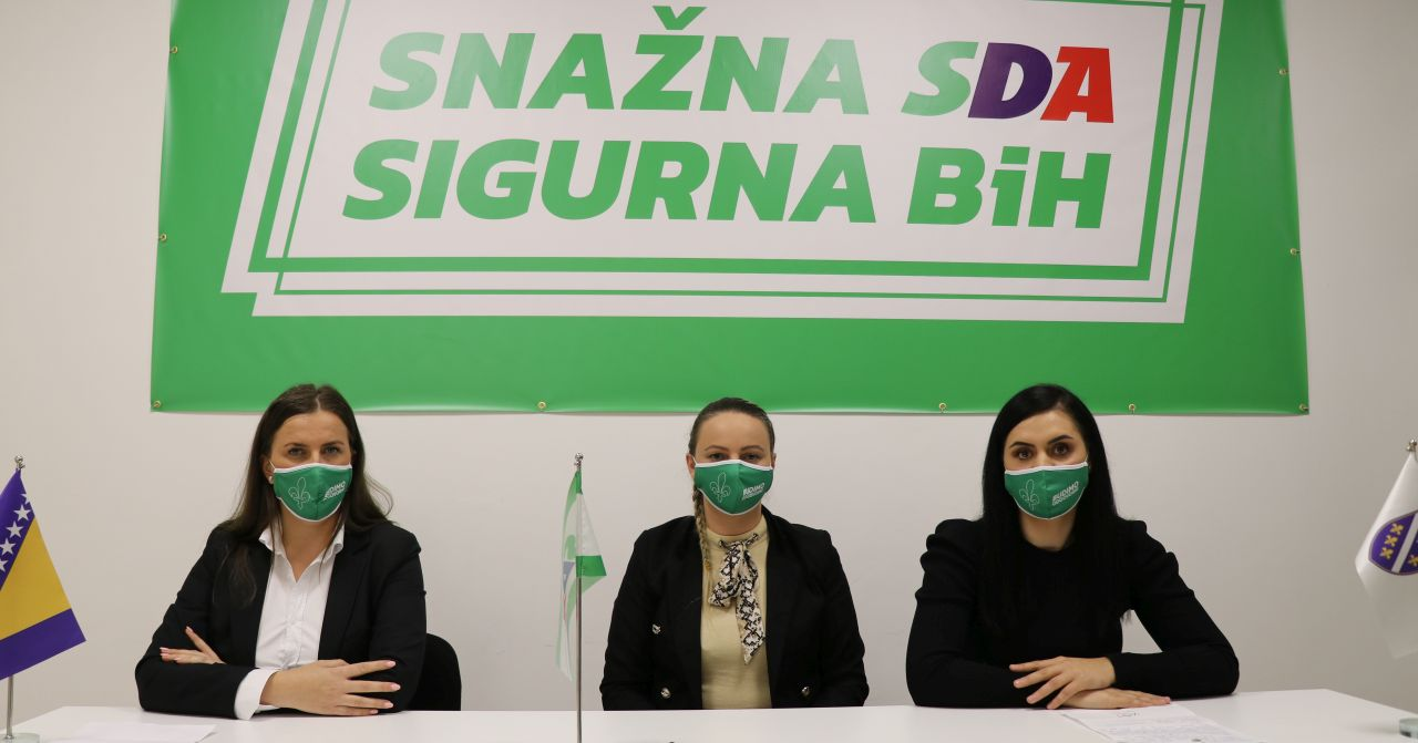 """Održana press konferencija na temu: """"Žene političari–Značaj i podrška žena u izbornom procesu"""""""