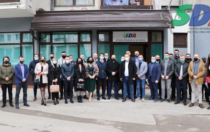 U Travniku održana sjednica Asocijacije mladih SDA BiH