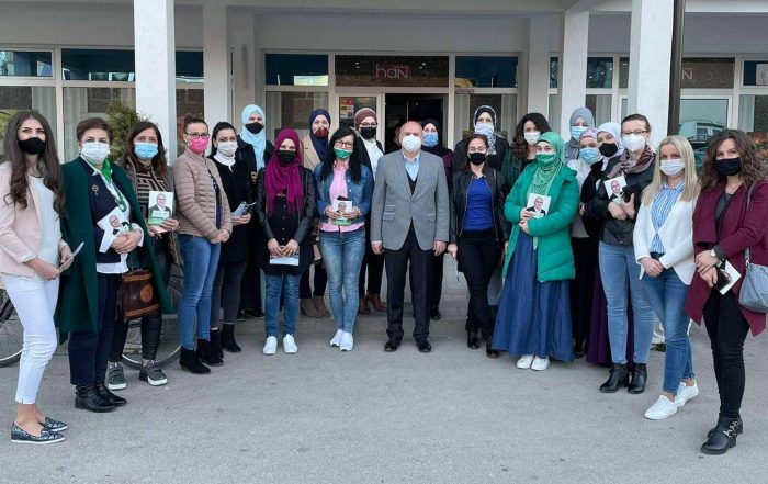 U Han Biloj održan regionalni sastanak Mjesnog odbora Žene SDA Travnik - Regija Bila