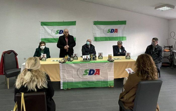 U Turbetu održan regionalni sastanak Mjesnog odbora Žene SDA Travnik - Regija Turbe