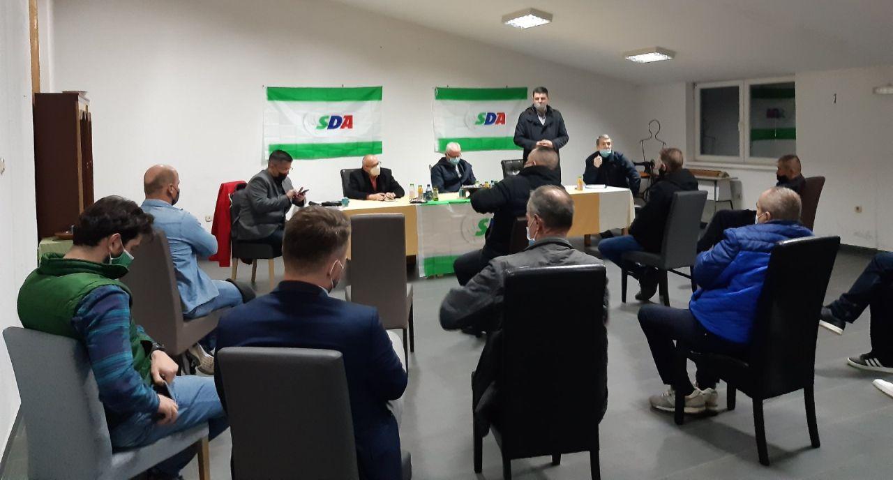 Jučer u Turbetu održan regionalni sastanak OO SDA Travnik Turbetske regije