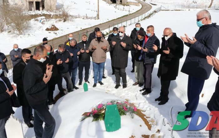 Danas odata počast rahmetli dr. Mirsadu Peci i Salimu Tarakčiji